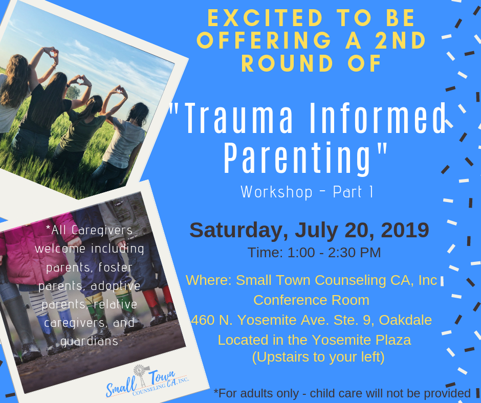 Trauma Informed Parenting Workshop Part One.