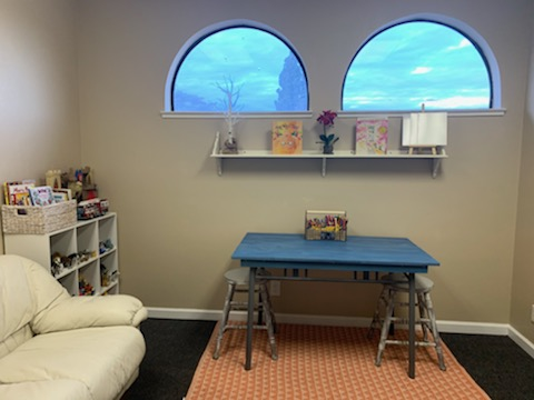 Oakdale Kids_Art Therapy Room